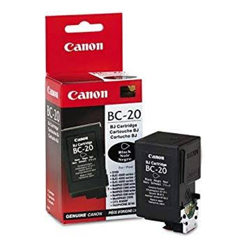 Canon BC-20 Large Capacity Black Ink Cartridge