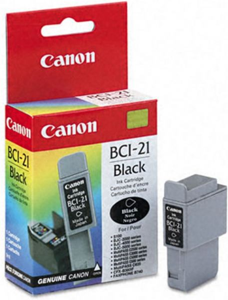 Canon BCI-21 Black Ink Cartridge