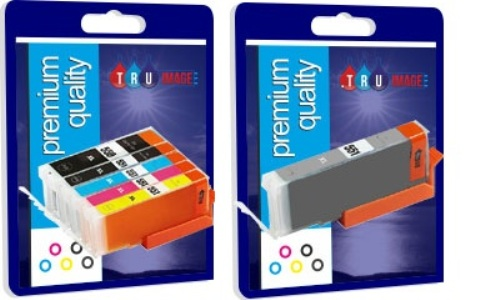 Compatible 6 Colour Multipack for Canon PGI-580XXL, CLI-581XXL Ink Cartridge
