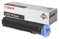 Canon C-EXV18 Black Copier Toner Cartridge (CEXV18) - 0386B002AA