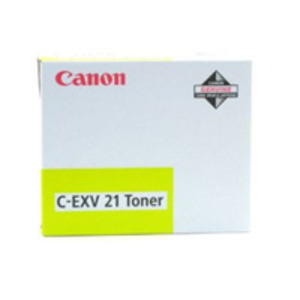 Canon C-EXV21 Y Yellow Toner Cartridge (CEXV21 Y) - 0455B002AA
