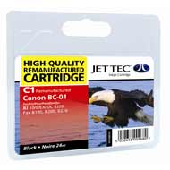 Replacement Black Ink Cartridge (Alternative to Canon BC-01)