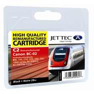 Replacement Black Ink Cartridge (Alternative to Canon BC-02)