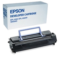Epson Black Toner Developer Toner Cartridge, 3K Page Yield