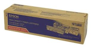Epson High Capacity Magenta Toner Cartridge, 2.7K Page Yield
