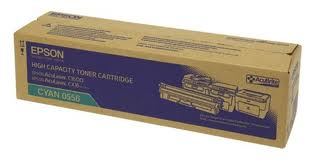 Epson High Capacity Cyan Toner Cartridge, 2.7K Page Yield
