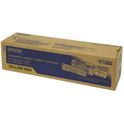 Epson Standard Capacity Yellow Toner Cartridge, 1.6K Page Yield