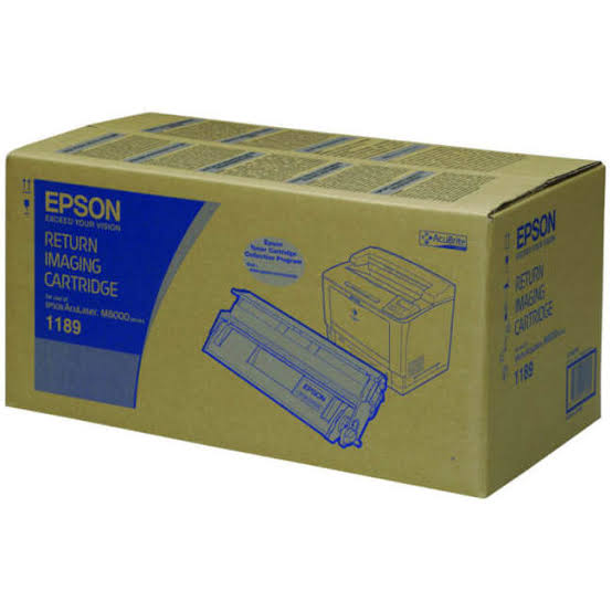 Epson Return Program Black Toner Cartridge, 15K Page Yield