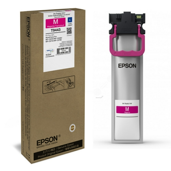 Genuine Magenta Epson T9443 Ink Cartridge - C13T944340