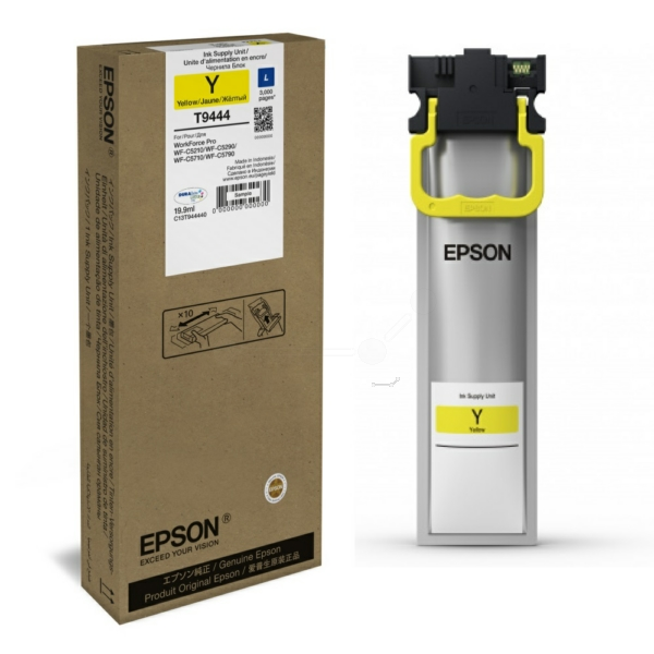 Genuine Yellow Epson T9444 Ink Cartridge - C13T944440