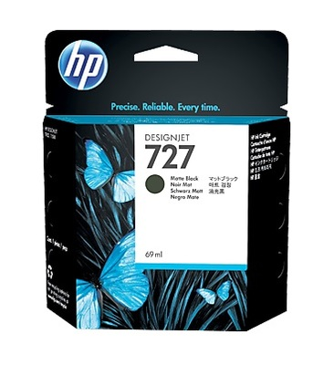 HP 727 Matte Black Ink Cartridge - C1Q11A