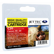 Replacement Black Ink Cartridge (Alternative to Canon BC-20)