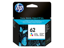 HP 62 Ink Cartridge Standard Capacity Colour - C2P06A Cartridge