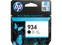 HP 934 Ink Cartridge Standard Capacity Black - C2P19A