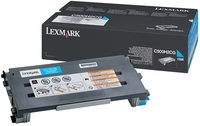 Lexmark 0500H2CG High Capacity Cyan Toner Cartridge, 3K Page Yield