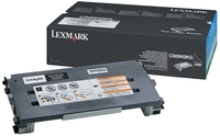 Lexmark 0C500H2KG High Capacity Black Toner Cartridge, 5K Page Yield