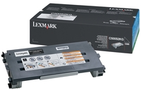 Lexmark 0C500S2KG Standard Capacity Black Toner Cartridge, 2.5K Page Yield