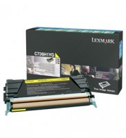 Lexmark C736H1YG High Capacity Yellow Return Program Toner Cartridge, 10K Page Yield