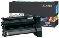 Lexmark C780H1KG Return Program Black Toner Cartridge, 10K Page Yield