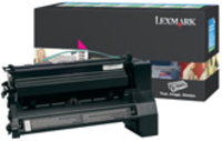 Lexmark C780H1MG Return Program Magenta Toner Cartridge, 10K Page Yield