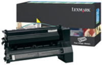 Lexmark C780H1YG Return Program Yellow Toner Cartridge, 10K Page Yield
