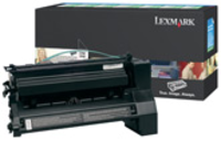 Lexmark C782X1KG Return Program Black Toner Cartridge, 15K Page Yield