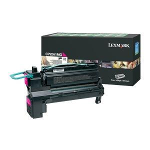 Lexmark C792A1MG Magenta (Return Program) Toner Cartridge, 6K Page Yield