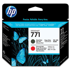 HP 171 Matte Black and Chromatic Red Printhead Cartridges