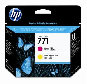 HP 171 Magenta and Yellow Printhead Cartridges