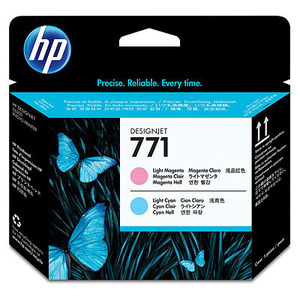 HP 171 Light Magenta and Light Cyan Printhead Cartridges