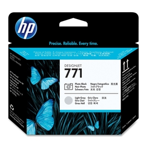 HP 171 Photo Black and Light Grey Printhead Cartridges