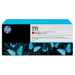 HP 171 Chromatic Red Ink Cartridge - CE038A, 775ml