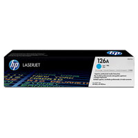 HP CE311A Cyan (126A) Toner Cartridge - CE 311A