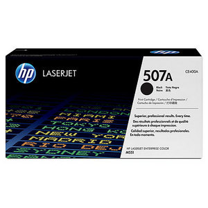 HP CE400A Black (507A) Toner Cartridge - CE 400A