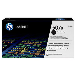 HP CE400X High Capacity Black (507X) Toner Cartridge - CE 400X