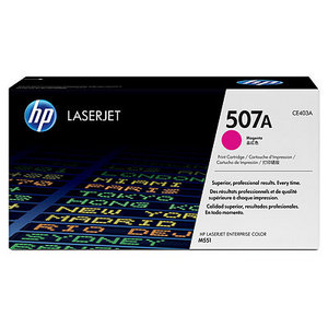HP CE403A Magenta (507A) Toner Cartridge - CE 403A