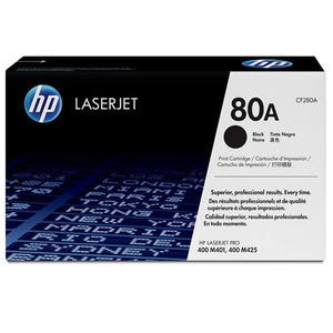 HP 80A Laser Toner Cartridge, 2.7K Page Yield