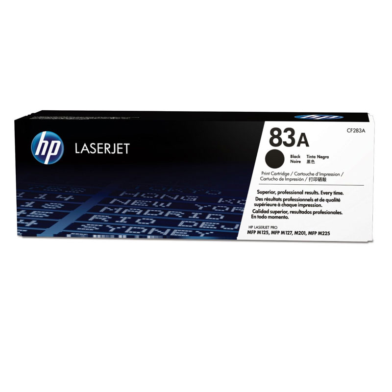 HP 83A Black Toner Cartridge, 1.5K Page Yield