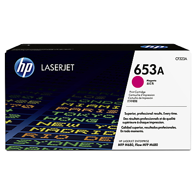 HP 653A Magenta Toner Cartridge, 16.5K Page Yield