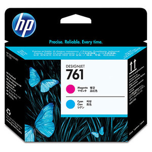HP 671 Cyan and Magenta Printhead Cartridges