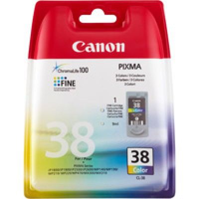 Canon CL-38 Standard Capacity Colour Ink Cartridge ( 38 Color )