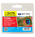 Jet Tec CLI-526 Cyan Ink Cartridge, 11ml