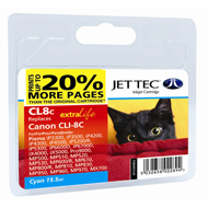 Jet Tec CLI-8 Cyan Ink Cartridge, 15.5ml