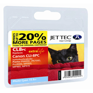 Jet Tec CLI-8 Photo Cyan Ink Cartridge, 15.5ml