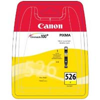 Canon ChromaLife100+ CLI 526Y Yellow Ink Cartridge ( 526Y )