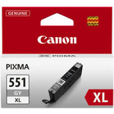 Canon 551XL High Capacity Grey Ink Cartridge - CLI 551XL GY, 11ml