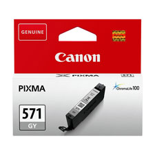 Canon 571 Grey Ink Cartridge - CLI 571GY, 7ml