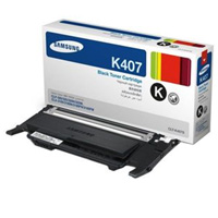 Samsung CLT K4072S Black Toner Cartridge, 1.5K Page Yield