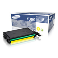 Samsung CLT Y6092S Yellow Toner Cartridge, 7K Page Yield