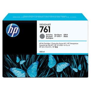 HP 671 Dark Grey Ink Cartridge - CM996A, 400ml